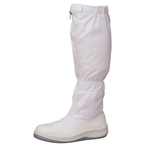 静電安全靴 【送料無料】 ミドリ安全 クリーンエリア用 静電 ワイド樹脂先芯 安全靴 SCR1200フード [静電靴 静電安全靴 静電気防止 静電気除去 帯電防止] ホワイト【ランキングにランクイン】