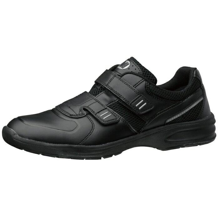 【楽天ランキング1位】 超軽量作業靴 ミドリ安全 【軽やかに働く。ウルトラライト作業靴!】 UL-415 マジックタイプ ブラック [蒸れない・通気性が良い・涼しい・快適]