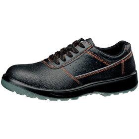 【楽天ランキング1位】安全作業靴【送料無料】ミドリ安全鋼製先芯発泡ポリウレタン2層底作業靴デサフィオDSF01EEEEブラック
