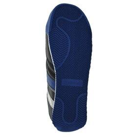 安全作業靴【送料無料】ミドリ安全ミドリ安全男女兼用軽量樹脂先芯スニーカーワークプラスクラシックWPC111ブラック×ブルー