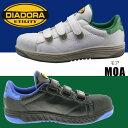 NEW 新作 最新 ディアドラ安全靴 DIADORA 安全作業靴 モア MOA 23〜28・29cm 2カラー