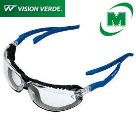 保護めがね ビジョンベルデ ミドリ安全 保護メガネ VS-102F (両面曇り止め) [花粉メガネ/花粉対策にも]