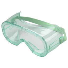 ミドリ安全 [ルネベル] 保護メガネ ゴーグル MG216 耐薬品性ヘッドバンドゴム 無気孔 両面曇り止め