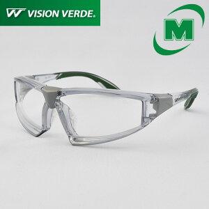 ビジョンベルデ ミドリ安全 保護めがね 軽量 軟質鼻パッド ソフトテンプル 両面曇り止め VD201F [花粉メガネ/花粉対策にも]