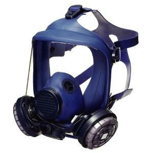 防塵マスク 興研 KOKEN フィルター取替式防じんマスク 1821H型 (RL3) 天然ゴム 国家検定合格