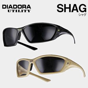 保護メガネ [DIADORA ディアドラ] [SHAG シャグ] SG−22/SG−99 [傷つきにくい/快適な掛け心地/曇り止め/フルフレーム構造]