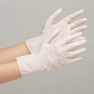 【100枚入】 ミドリ安全 ベルテ600N 粉付き 天然ゴム 使い捨て ディスポ手袋 作業手袋 作業用手袋 ホワイト SS-LL