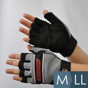 ペンギンエース penguinace 作業手袋 HUSOLID ヒューソリッド H-2 M〜LL グレー 指なし