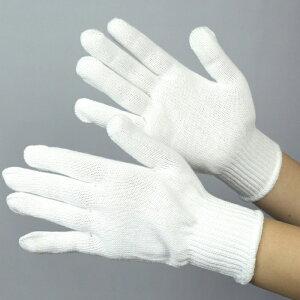 グローブ 作業手袋 作業用手袋 [布施商店] 《綿100%》 やわらか軍手 COVER WORK 白 FT-3101-1P [S/M/L]