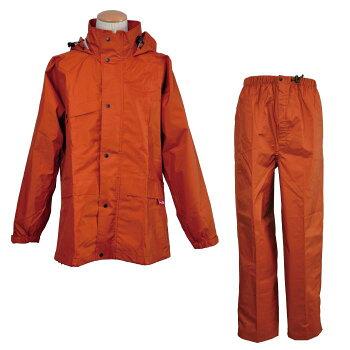 レインウェア【送料無料】ミドリ安全防水・透湿性+耐久撥水性《エントラントG》カッパ合羽雨衣ニューグランドスラムレイン♯8200オレンジ