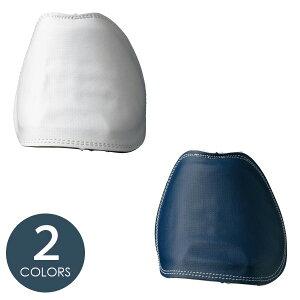 ミドリ安全 スニーカー用 甲プロ 甲プロテクタ 芯材樹脂 取付け型 靴備品 ホワイト/ネイビー