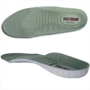 靴備品 インソール 中敷 カップインソール DR-01WP グレイ EVA材 抗菌防臭加工