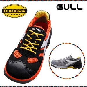 ディアドラ安全靴 DIADORA ガル GULL GL-217 GL-818 JSAA認定 【DIADORA Utility】 全方向超耐滑 超軽量 エアメッシュ 先芯 安全作業靴 プロテクティブスニーカー プロスニーカー [ブラック/ホワイト/オレ