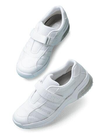 【楽天ランキング1位】安全作業靴【送料無料】ミドリ安全男女兼用ムレも静電気も気にならない軽量ナースシューズスニーカーメンズ対応可メディカルエレパスCSS‐308静電ホワイト