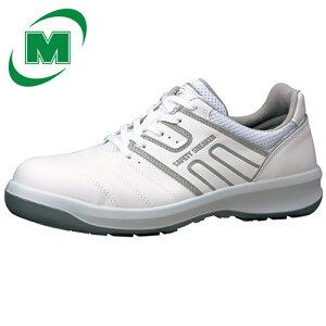 【大きいサイズ】安全作業靴 プロテクティブスニーカー プロスニーカー 先芯 JSAA認定 ミドリ安全 男女兼用 ワイド樹脂先芯 ひも G3590 ホワイト 29.0・30.0(EEE) 日本製