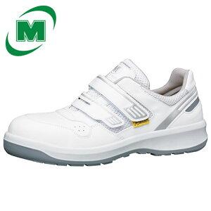 【小サイズ レディース】 安全作業靴 プロテクティブスニーカー プロスニーカー メッシュ ミドリ安全 安全靴 G3695 静電 マジックタイプ ホワイト ワイド樹脂先芯 [静電靴 静電安全靴 静電気