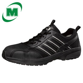 安全作業靴 ミドリ安全 男女兼用 超軽量 ワークプラス・スーパーライト SL601CAP ブラック 黒[作業靴:蒸れない・通気性が良い・涼しい・快適]