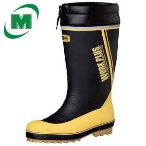 ミドリ安全 ワークプラスブーツ MPB810N 防寒安全長靴 安全靴 【防寒インナーソックス入り】 《裾を入れられる、筒太仕様》 安全長靴 スノーシューズ・スノーブーツ・ウィンターブーツ 冬靴