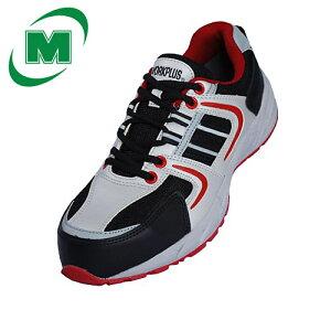 軽量! ミドリ安全 ワークプラス MJ311 先芯 JSAA認定 樹脂先芯 スニーカー [作業靴:蒸れない・通気性が良い・涼しい・快適] 安全作業靴 プロテクティブスニーカー プロスニーカー ひもタイ