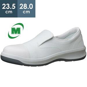 静電安全靴 ミドリ安全 足ブレしない、安定感/3Dフットベッド クリーンルーム用 GCR1200 フルCAP [静電靴 静電安全靴 静電気防止 静電気除去 帯電防止] 日本製
