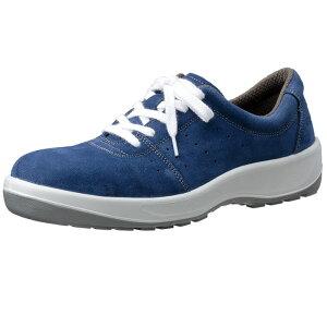 安全靴 スニーカー ミドリ安全 【JIS規格】 男女兼用 安全靴 MSN350紐(ひもタイプ) ブルー 23.5〜28.0cm(EEE)