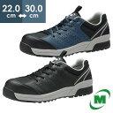 安全作業靴 ミドリ安全 男女兼用 ワイド樹脂先芯スニーカー ワークプラス MPN301 ブラ...