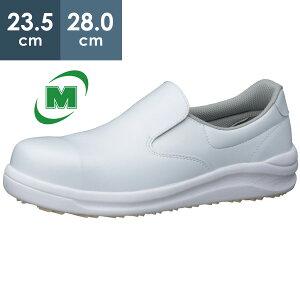ミドリ安全 安全作業靴 プロスニーカー プロテクティブスニーカー 粉職場用 耐滑 コナグリップ CG700 先芯入りホワイト スリッポン 滑りにくい靴 レディース メンズ 23.5-28.0cm EEE