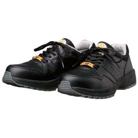 静電気帯電防止靴 [ドンケル] ひも スニーカー ハイテク樹脂先芯 耐滑性能 ダイナスティ SD-22 [静電靴 静電安全靴 静電気防止 静電気除去 帯電防止] ブラック