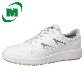 【大サイズ】滑りにくい靴【送料無料】ミドリ安全男女兼用超耐滑軽量作業靴ハイグリップH710Nホワイト大