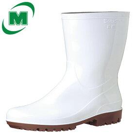 【大サイズ】滑りにくい靴ミドリ安全男女兼用抗菌長靴ハイグリップHG2100Nスーパーホワイト大耐油耐薬超耐滑