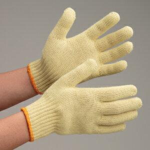 ミドリ安全 耐切創性手袋 イエローガード072 EN388カットレベル4 アラミド手袋 アラミド繊維 グローブ 作業手袋 耐熱性 難燃性 スタンダードサイズ 10双/袋 【ランキングにランクイン】