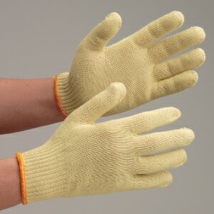 【楽天ランキング1位】 耐切創性手袋 10双入 【送料無料】 ミドリ安全 イエローガード102 10双/袋 作業用手袋 耐切創性 耐熱性 難燃性 スタンダードサイズ