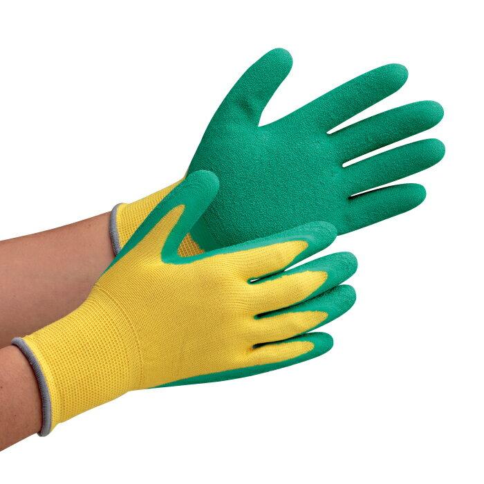 天然ゴム製手袋 背抜き(通気性良好) 作業手袋 ハイグリップ(すべり止め) 天然ゴム背抜き手袋 MHG130 グローブ 作業手袋 作業用手袋 [S/M/L]【ランキングにランクイン】