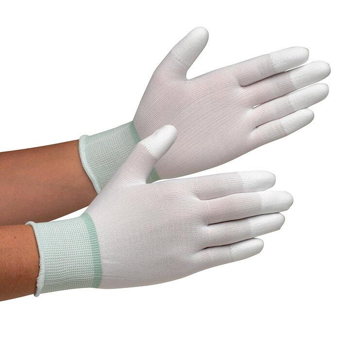 【楽天ランキング1位】 作業手袋 ミドリ安全 【すべり止めポリウレタン 指先コーティング】 MCG−701 10双入 作業用手袋