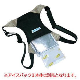 冷感グッズ ブレイン アイスバック専用保冷剤セット ジェルX1 アルミ袋X2袋 [熱中対策 暑さ対策 冷却 身体 冷やす]