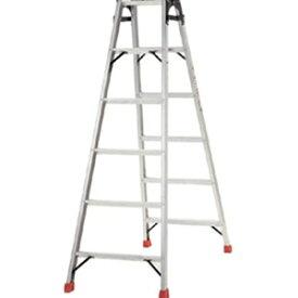 トラスコ中山 TRUSCO 工事用品 はしご・脚立 脚立 プロ用梯子兼用脚立180cm TPRK180