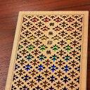 御朱印帳 レインボーカラー「虹(にじ)」 かわいい おしゃれ 木製素材のカバー表紙 高級御朱印帳 蛇腹折り ご縁