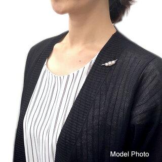 パールブローチ(6557)アコヤ真珠5.5mmシルバー豆モチーフ小さめ入学式卒業式結婚式パーティーフォーマルプレゼント母の日送料無料あす楽
