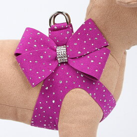 ★Susan Lanci/スーザンランシー★Stardust with Nouveau Bow Heart Harnessスワロフスキー付ハーネス
