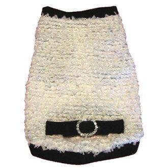 ★供Ruff Ruff Couture/rafurafukuchuru★Coco Bow Crystal Shirt狗使用的短袖汗衫