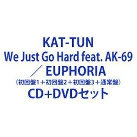 KAT-TUN / We Just Go Hard feat. AK-69 / EUPHORIA(初回盤1+初回盤2+初回盤3+通常盤) [CD+DVDセット]