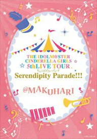 [送料無料] THE IDOLM@STER CINDERELLA GIRLS 5thLIVE TOUR Serendipity Parade!!!@MAKUHARI [Blu-ray]