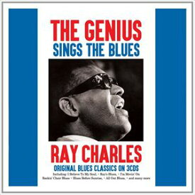 輸入盤 RAY CHARLES / GENIUS SINGS THE BLUES [3CD]