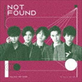 Sexy Zone / NOT FOUND(初回限定盤A/CD+DVD) (初回仕様) [CD]