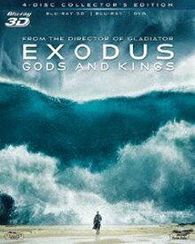 [送料無料] エクソダス:神と王 4枚組コレクターズ・エディション〔初回生産限定〕 [Blu-ray]