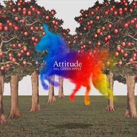 [送料無料] Mrs.GREEN APPLE / Attitude(通常盤) [CD]