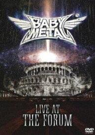 [送料無料] BABYMETAL/LIVE AT THE FORUM (初回仕様) [DVD]