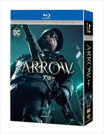 [送料無料] ARROW/アロー〈フィフス・シーズン〉 コンプリート・ボックス [Blu-ray]