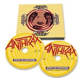 輸入盤 ANTHRAX / STATE OF EUPHORIA [2CD]