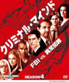 [送料無料] クリミナル・マインド/FBI vs. 異常犯罪 シーズン4 コンパクトBOX [DVD]
